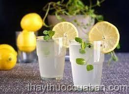 Chanh đường tốt cho người say nắng