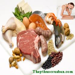 Chế độ ăn cho bệnh rối loạn kinh nguyệt