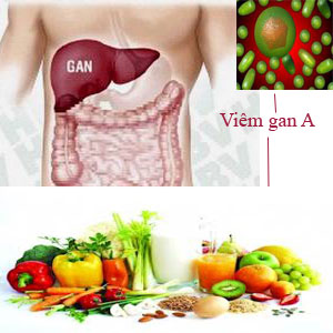 Chế độ ăn cho bệnh viêm gan A