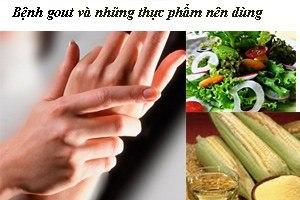 Bệnh khớp và những thực phẩm nên dùng