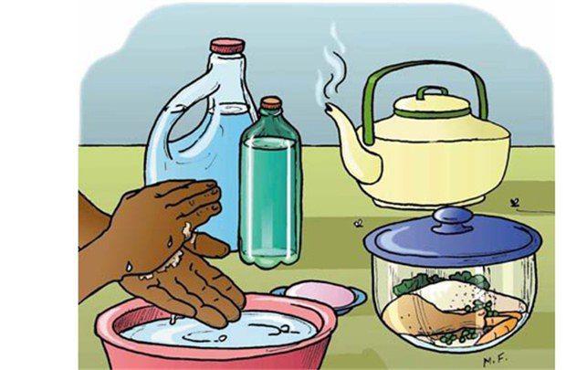 Ăn chín, uống sôi, vệ sinh sạch sẽ là quan trọng khi bị giảm bạch cầu