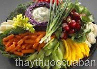 Chế độ ăn tốt cho thai nhi
