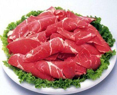 Thịt bò tốt cho bệnh thiếu máu